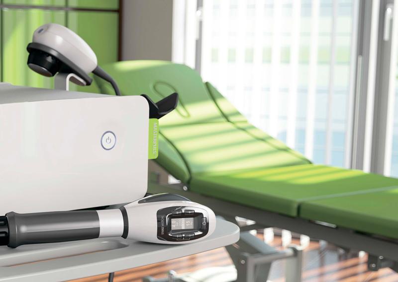 Аппарат радиальной ударно-волновой терапии Masterpuls 100 Ultra (Storz Medical).