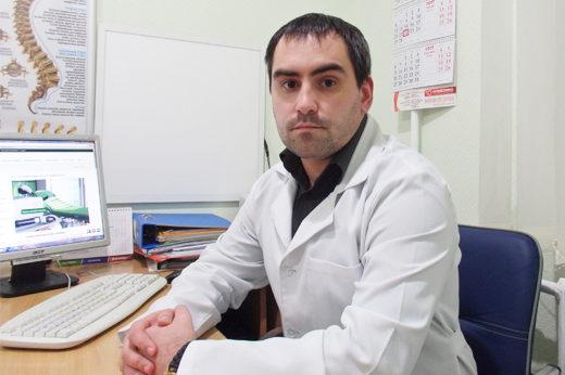 Ортопед-травматолог медицинского центра Аватаж Каплиенко Александр Юрьевич.