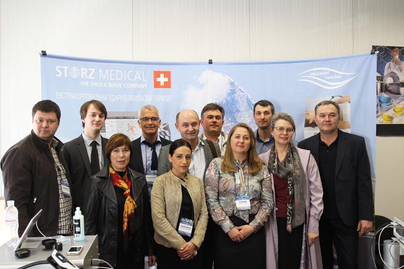 Команда Shockwave Kiev-2106 вместе с швейцарскими коллегами.
