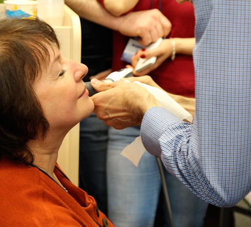 Лечение морщин акустической волной без операций и и ньекций на оборудовании Storz Medical.