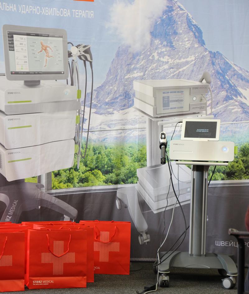 Новое поколение аппаратов от Storz Medical на Shockwave Kiev