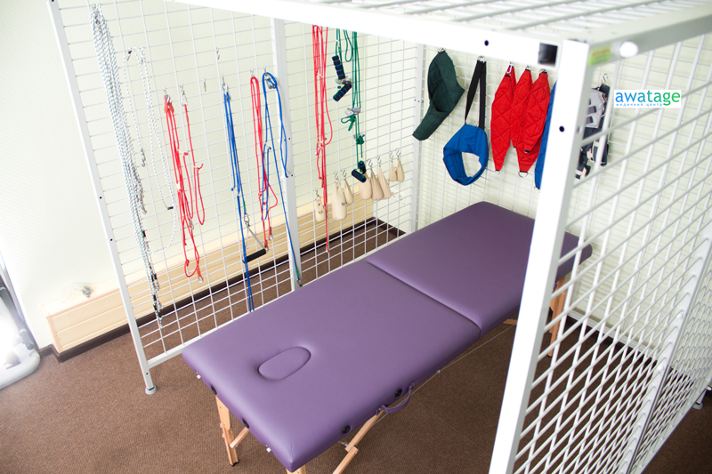 Кабина для проведения подвесной терапии в Медицинском центре Аватаж в Запорожье