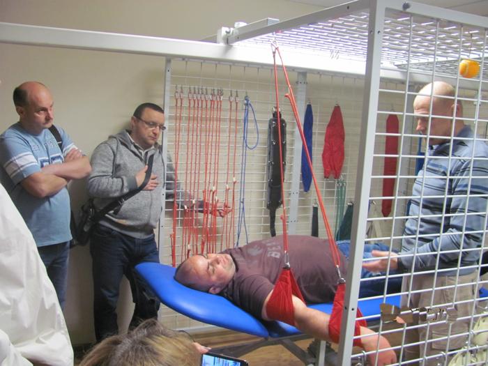 Подвесная терапия, опыт применения у больных с заболеваниями позвоночника.