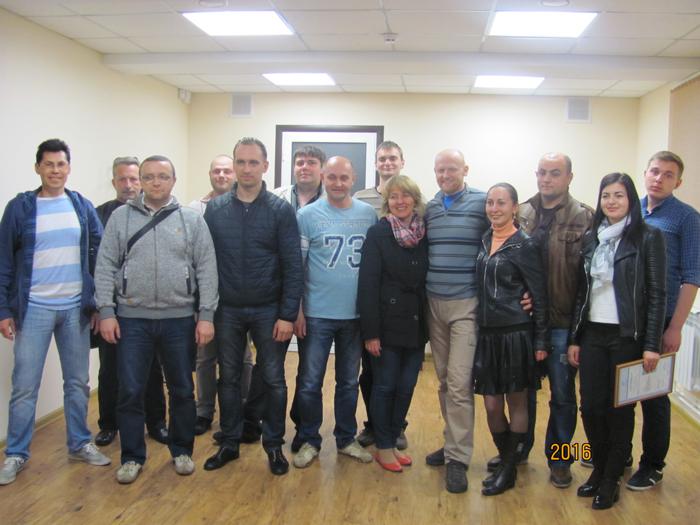 Участники семинара по подвесной терапии. 2016.