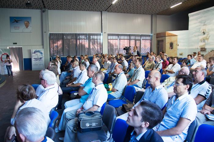 Конференция  травматологов Украины в Приморске. Заседания.
