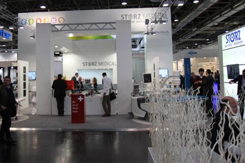 Storz Medical - лидер на рынке оборудования для ударно-волновой терапии. Medica 2106.