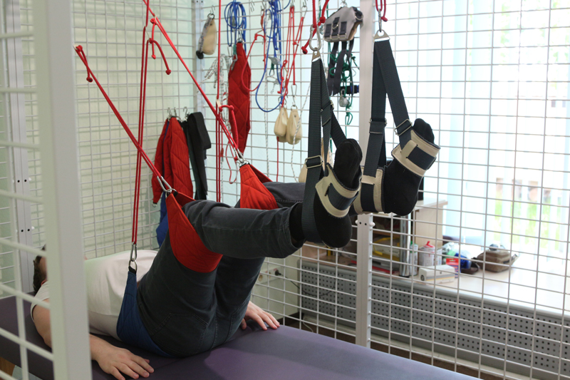 Подвесная терапия - значительно расширяет возможности постинсультной реабилитации