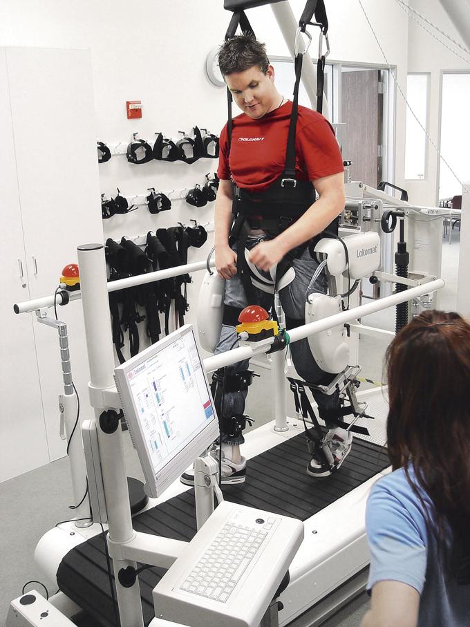 Специальные аппараты и экзоскелета с биологической обратной связью - прорыв в реабилитации пациентов с двигательными нарушениями.
