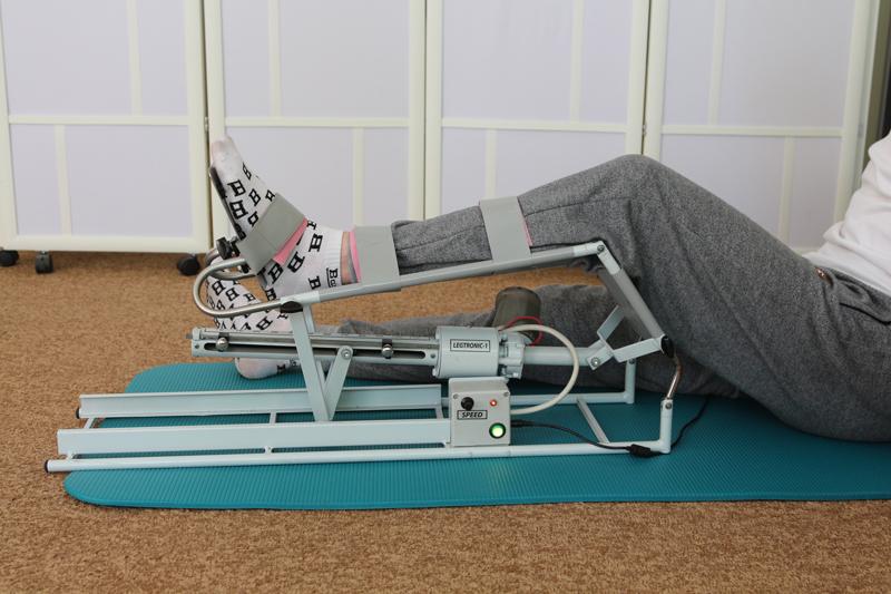 Длительная пассивная механотерапия - эффективное начало восстановления при плегиях.