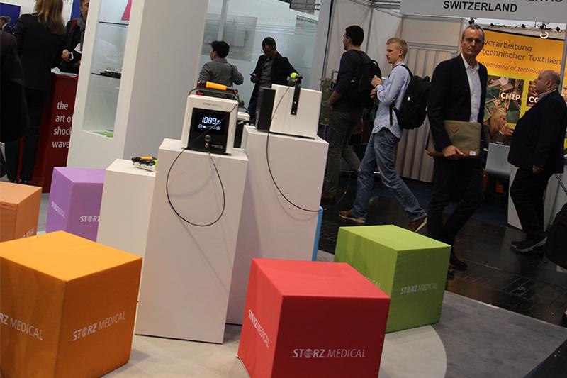 MASTERPULS ONE - удивительно компактный аппарат для ударно-волновой терапии от Storz Medical.