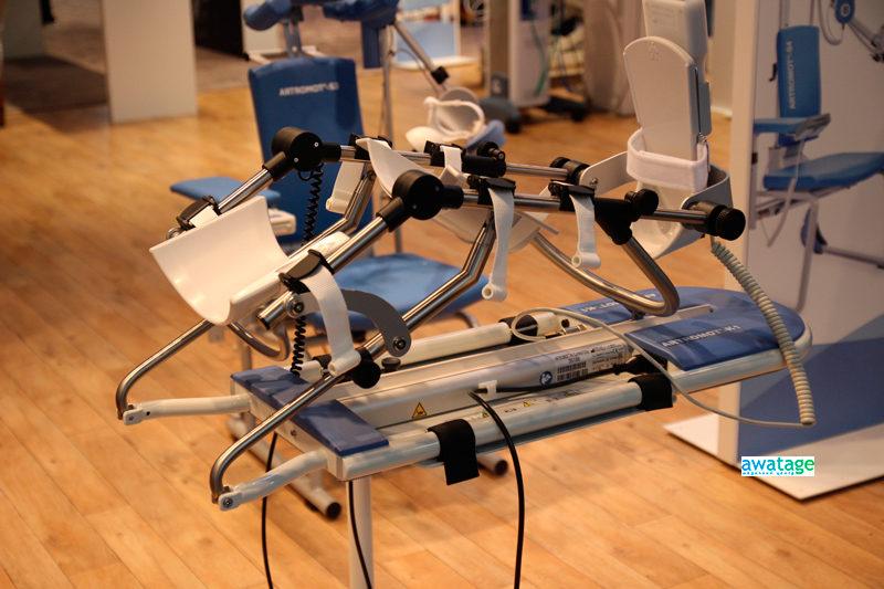 Тренажер для длительной пассивной разработки коленного и тазобедренного суставов