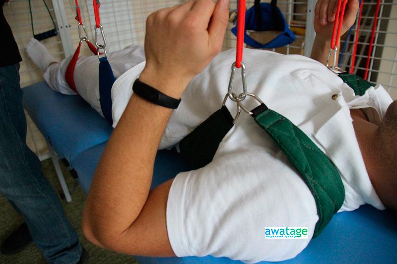 Подвесная терапия в реабилитации пациентов после травм суставов.