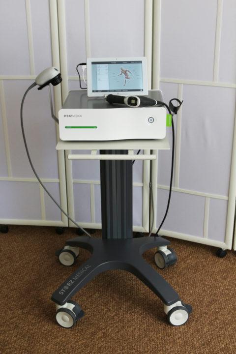 Аппарат радиальной ударно-волновой терапии Masterpuls 100 Ultra для косметологии.