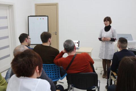 Обучающий семинар по ударно-волновой терапии. Медицинский центр
