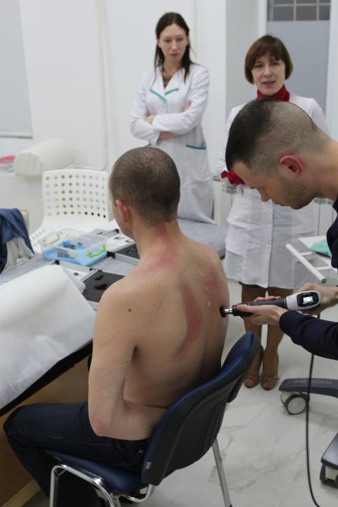 Использование технолгии Peri-actor для лечения патологии фасций и сухожилий.