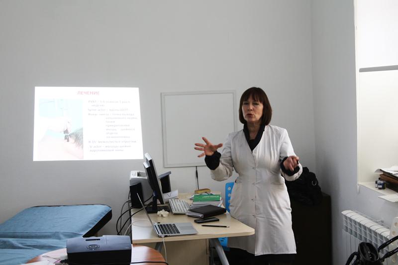 Обучающий семинар по УВТ, доклад по неврологии