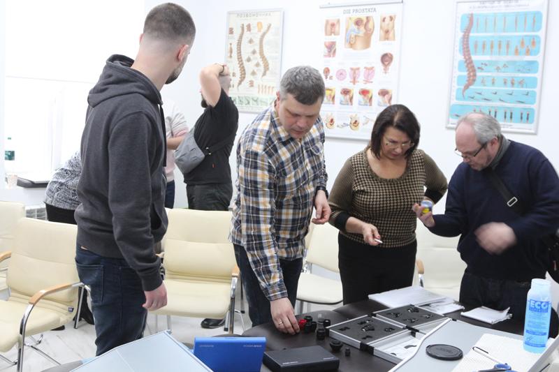 Знакомство с новыми насадками и трансмиттерами для аппаратов ударно-волновой терапии