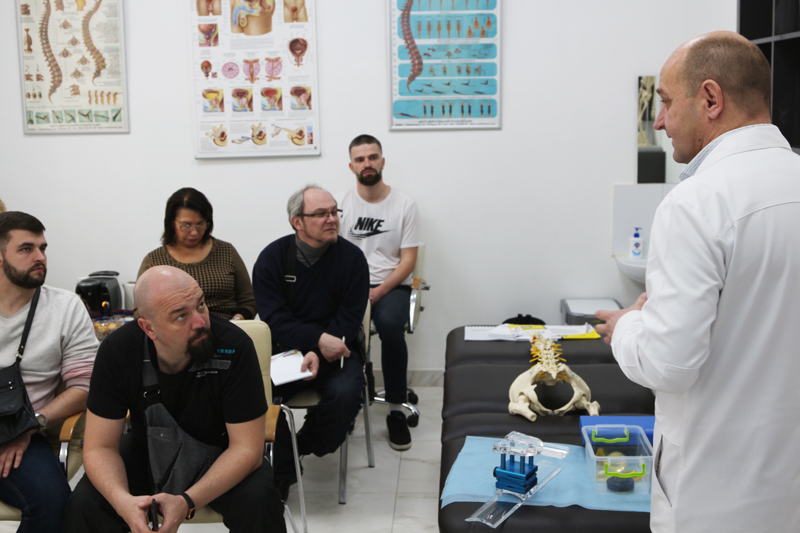 Обучающий семинар по УВТ, доклад по использованию ударной волны в урологии и хирургии