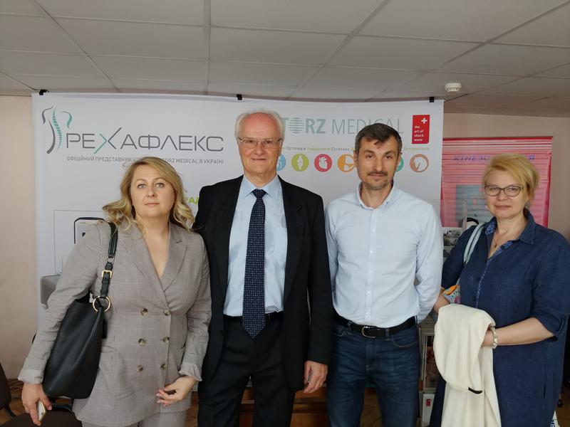 """Павел Новак и специалисты МЦ """"Аватаж"""""""