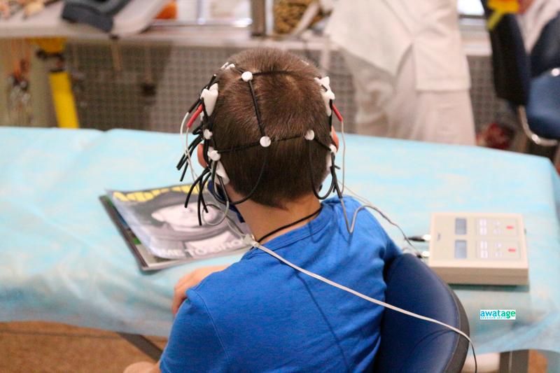 Микрополяризация мозга у детей с ДЦП